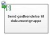 Send godkendelse for dokumentgruppe