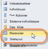 SharePoint 2010-mastersider