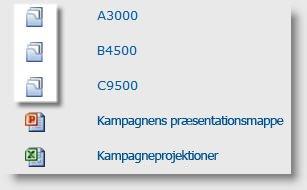 Mapper for dokkumentgrupper i et dokumentbibliotek