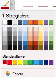Vælge en farve