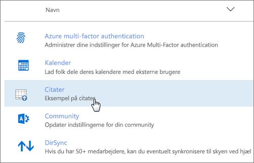 Tolføjelsesprogram installeret via Office 365 Administration