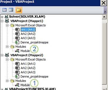 VBA-projektstifinder