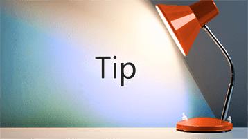 """Et lysskær er på ordet """"Tip"""""""