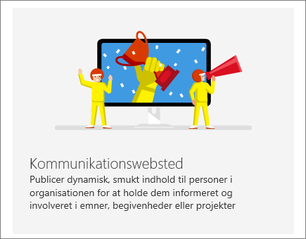 SharePoint Office 365-kommunikationswebsted