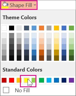Vælg en overstregningsfarve