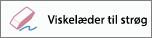 Viser ikonet Viskelæder til strøg i Word til iPhone.