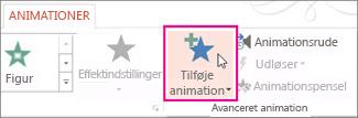 Tilføj animation