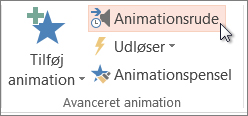 Åbn animationsruden
