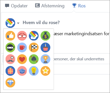 Ros i Yammer