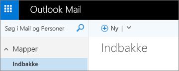 Sådan ser det nye Outlook.com-bånd ud