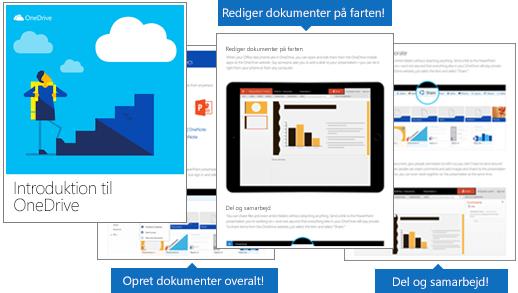 Introduktion til OneDrive e-bog