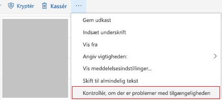 Outlook Onlinekontrol for værktøjet problemer med tilgængeligheden