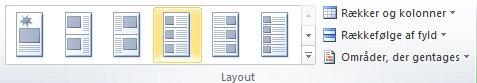 Layoutmuligheder for katalogfletning