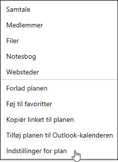 Få mail om en plan