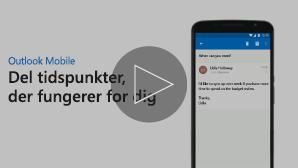 Miniaturebillede med videoen Send mødetilgængelighed – klik for at afspille
