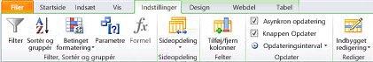Åbn webstedet i SharePoint Designer 2010