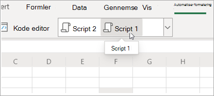 Vis Office-scripts