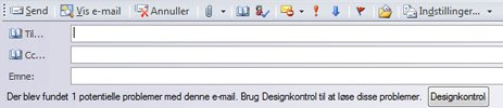Send en publikation som en e-mail i Publisher 2010
