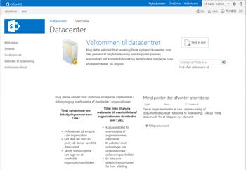 Datacenterskabelon