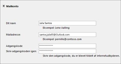Outlook-indstillinger
