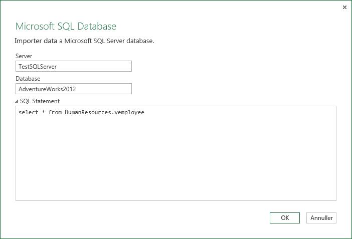 Køre oprindelige databaseforespørgsler