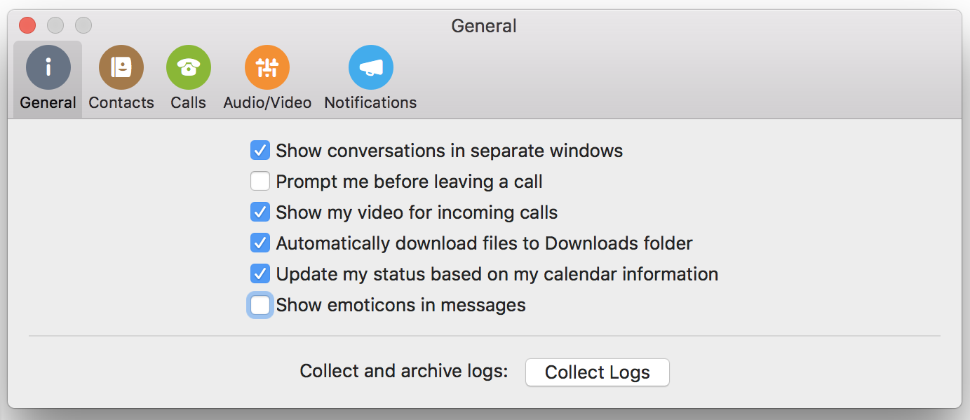 Følg de seneste opdateringer i Skype for Business - Office Support