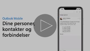Miniaturebillede med videoen Få mere at vide om kontakter – klik for at afspille