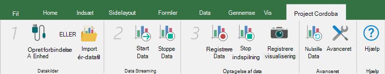 Forbinde en datakilde
