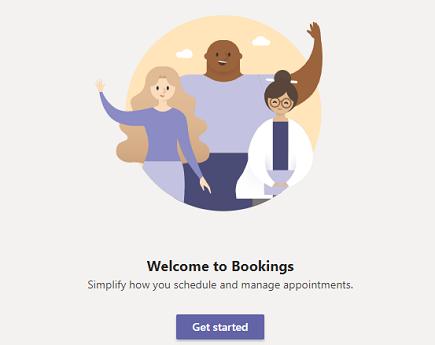 Velkommen til bookings i Microsoft teams