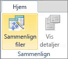 Sammenligne filer