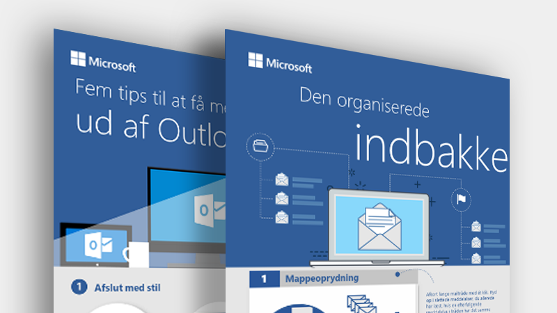 Download disse Outlook-infografikker