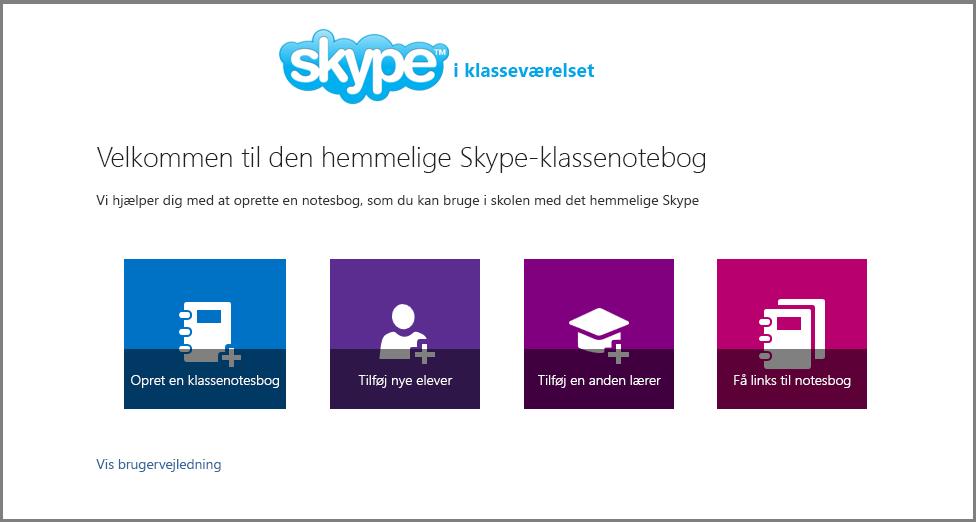 Velkommen til Mystery Skype