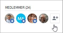 Føje personer til en Yammer-gruppe