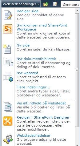 Linket Webstedstilladelser
