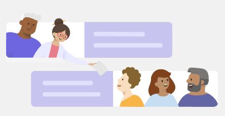 Arbejd med opslag og meddelelser