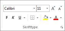 Tekstformateringsindstillinger