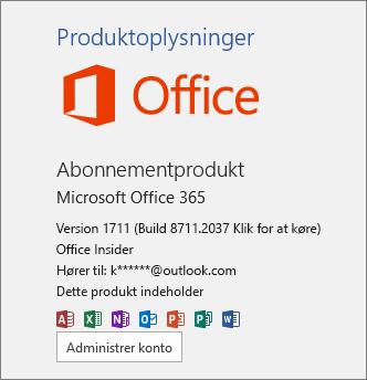 Office insider-build