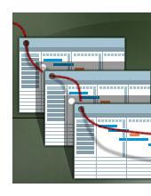 Grafik med oversigt over samarbejde