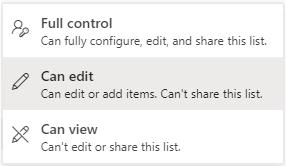 Access-indstillinger