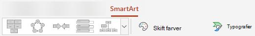 Ændre typografi, farve eller layout