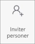 Knappen Inviter personer i OneDrive til Android