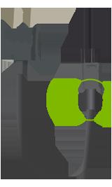 Strømledning til udskiftning med en cirkel, der viser det område, der identificerer den nye ledning
