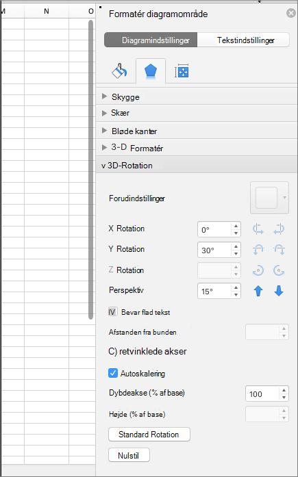 Ruden Formatér diagramområde