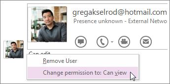 Du kan ændre tilladelser, og styre, hvem der kan se og redigere din notesbog.