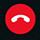 Afbryd opkaldet, men forbliv i mødet eller chatsessionen