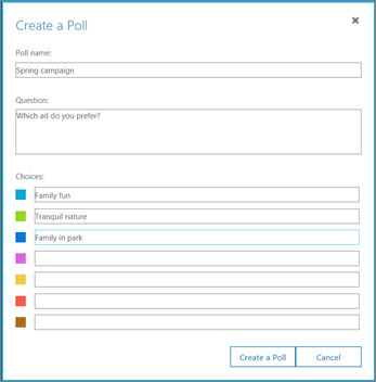 Klik på afstemning
