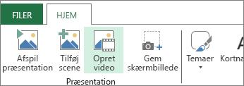 Opret video