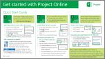 Kom i gang med Startvejledningen til Project Online