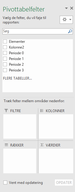 Ruden PivotTable Fields