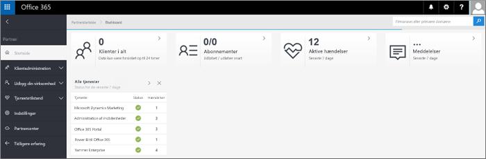 Partneradministrationscentrets nye design